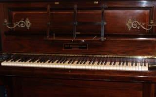 Treasure trove of gold found hidden in piano