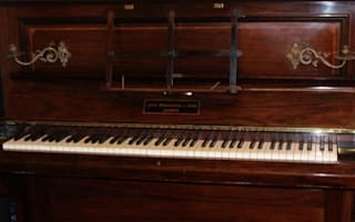 Treasure trove of gold found hidden in piano