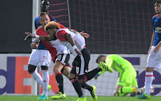 Feyenoord disappointed with Manchester United