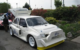 Colin McRae's MG Metro goes on eBay