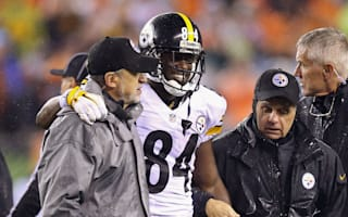 Steelers receiver Brown out of Broncos clash
