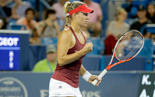 Kerber, Halep progress in Cincinnati