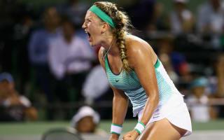 Azarenka seals Miami Open final spot with Kerber win