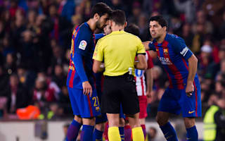Barcelona to appeal after Suarez Copa final ban is upheld