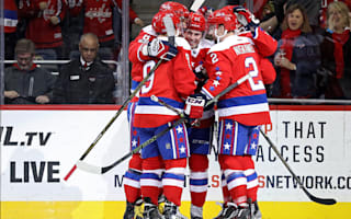 Capitals win eighth straight, Rangers downed