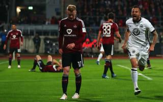 Eintracht Frankfurt beat Nuremberg to secure Bundesliga status