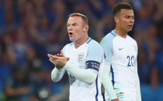 Rashford reveals inspiring Rooney speech after England's shock Iceland defeat