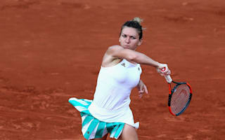 Halep through but ankle trouble persists