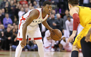Lowry inspires Raptors, 76ers lose 50th game
