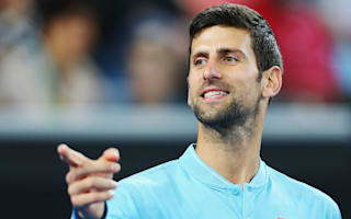 Djokovic 'very pumped' as he eyes magnificent seven