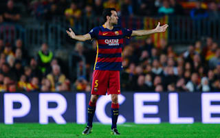 Busquets and Turan miss Barcelona training
