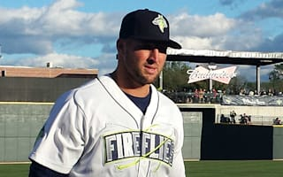 Tim Tebow homers in first at-bat in minor league debut