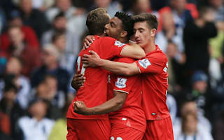 West Brom 1 Liverpool 1: Ibe brilliance earns Reds a draw ahead of Basle