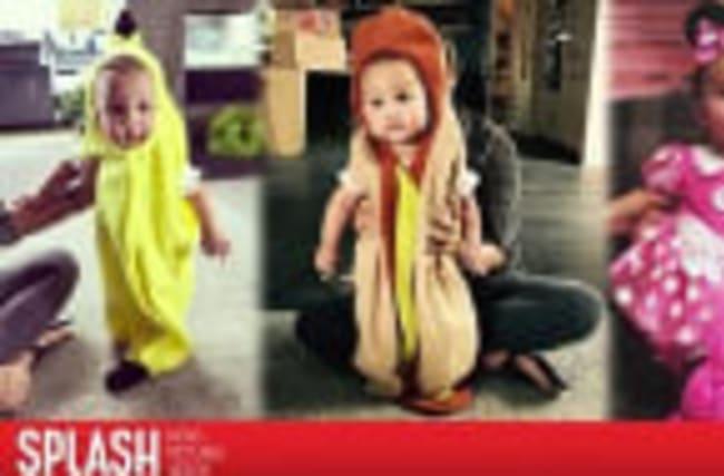 Chrissy Teigen Models Daughter in Adorable Halloween Costumes