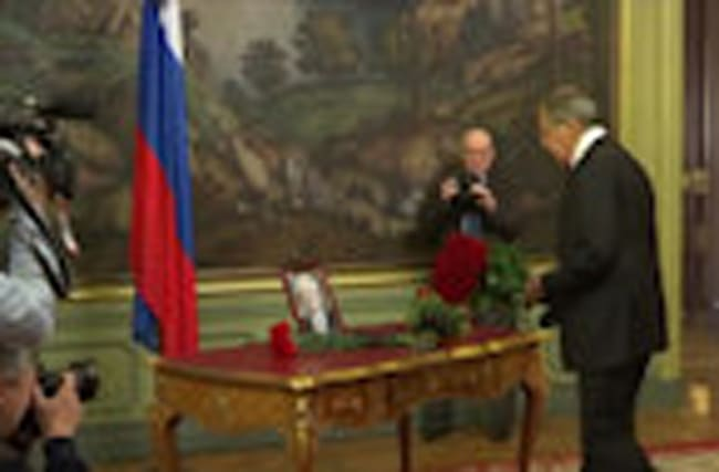 Russian FM Lavrov pays tribute to late ambassador Churkin