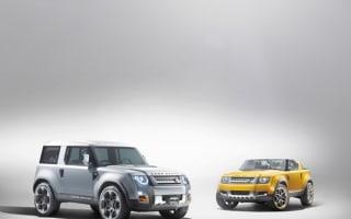 Frankfurt Motor Show: Land Rover Defender concepts