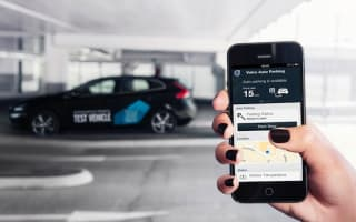 Volvo developing car that parks itself