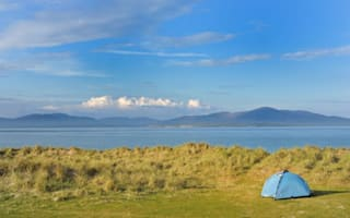 Britain's best views from a tent