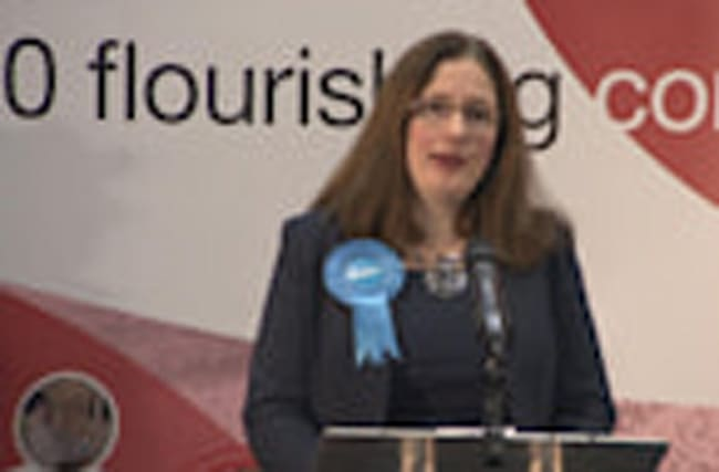 Caroline Johnson holds Tory seat in Sleaford by-election