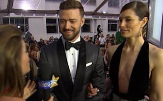 It's a 'date night' for Justin Timberlake and Jessica Biel at the Golden Globes