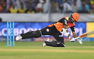 Dhawan sees Sunrisers over the line