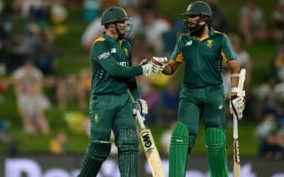 Outstanding De Kock and Amla secure victory