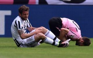 Allegri fears cruciate damage for Marchisio