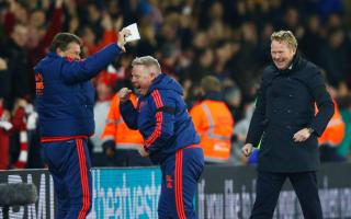 Southampton were perfect against Arsenal - Koeman