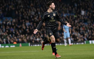 Manchester City 1 Celtic 1: Roberts scores against parent club