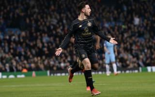 Manchester City 1 Celtic 1: Roberts scores against parent club