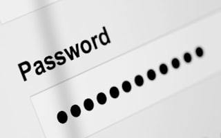 Are you using an easily-guessed password?
