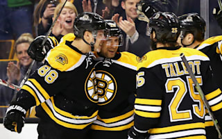 Bruins halt Red Wings, Maple Leafs shock Flyers