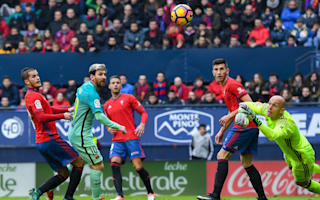 Osasuna 0 Barcelona 3: Messi magic ends frustrating run of draws