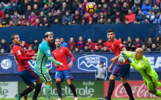Osasuna 0 Barcelona 3: Messi magic ends frustrating run of draws