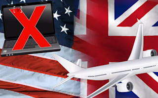 Why have the US and UK banned electronic devices on flights?