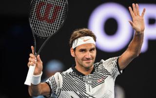Federer battled nerves on grand slam return