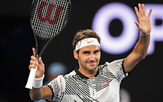 Federer battled nerves on grand slam return