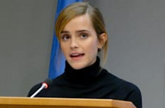 Emma Watson: I found my tribe after launching campaign