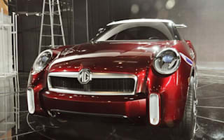 MG's Icon small SUV turns up at Beijing