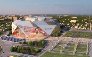 Mercedes-Benz stadium announced in Atlanta