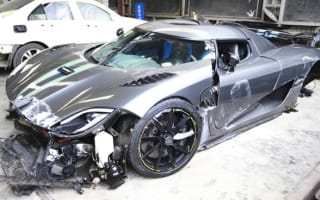 Driver smashes supercar in 'China's most expensive crash'