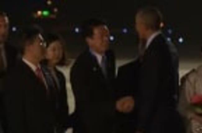 Obama arrives in Japan for G7