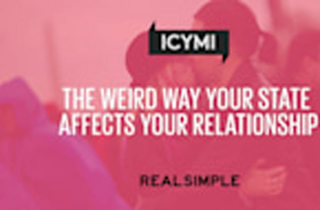 The Weird Way Your State Affects Your Relationship