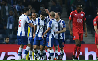Porto 5 Leicester City 0: Silva at the double as Ranieri's men crumble