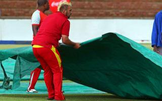 Zimbabwe versus Sri Lanka washed out