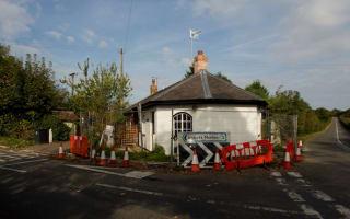 Suicidal motorist destroys listed building