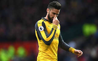 Wenger confirms ankle injury for Giroud