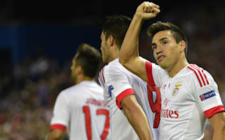 Salvio all but confirms Gaitan will join Atletico Madrid