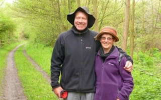 Walk on! Retired couple trek 1,424 miles to Italy from Shropshire