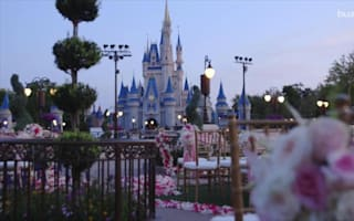You can get married at Cinderella's castle but it will cost you